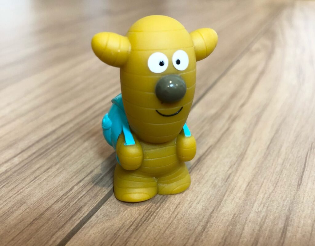 アンパンマンキャラクターショウガナイさんの指人形